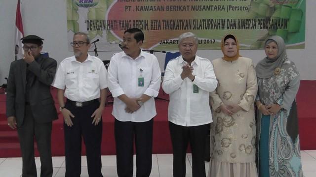 Halal Bihalal dan Tasyakuran HUT ke-31 PT. KBN (Persero)