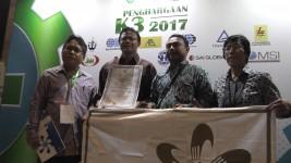 PT KBN (Persero) Mendapat Penghargaan SMK3