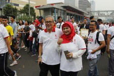 Lima BUMN Meriahkan HUT RI dengan Jalan Sehat