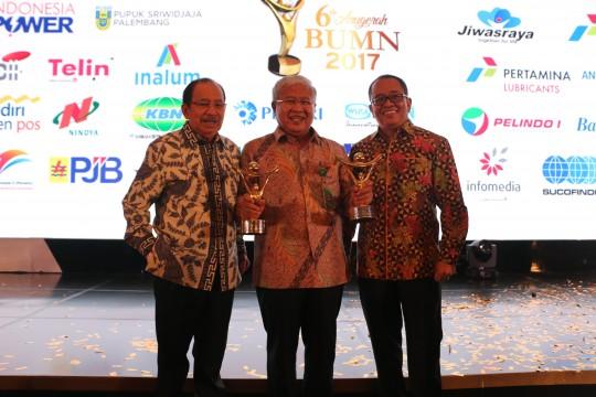 PT KBN (Persero) Mendapat 2 Penghargaan pada Ajang BUMN Award 2017
