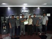 KBN Mendapatkan Sertifikasi Sistem Manajemen Mutu ISO 9001:2015