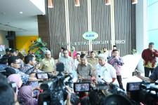 Wakil Presiden Jusuf Kalla Tinjau Pengembangan Bisnis KBN