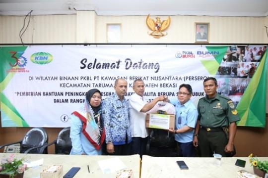 KBN Berikan Bantuan Peningkatan Kesehatan Bayi Dan Balita Di Kabupaten Bekasi