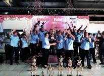 Tim SBU Cakung Juara Umum Porseni KBN 2019