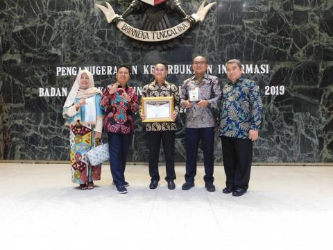 KBN Raih Penghargaan Keterbukaan Informasi Publik