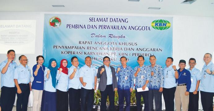 SHU Koperasi Karyawan KBN Naik 9,88%