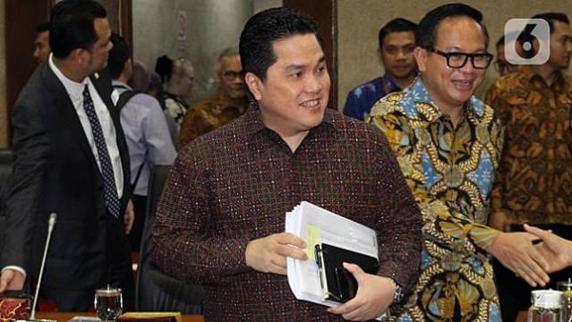 Presiden Rombak Kementerian BUMN, Ini Tugas 3 Deputi