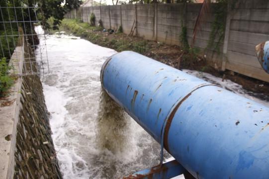 Tim Antisipasi Banjir Atasi Genangan di KBN