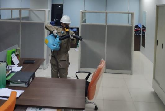 Kantor KBN Disemprot Disinfektan