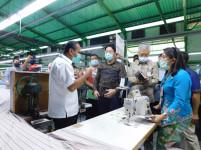 Dapat Izin dari Kementerian Perindustrian, Pabrik Garmen di KBN Tetap Beroperasi