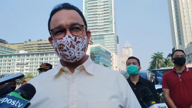 Anies Teken Kepgub Perpanjangan PSBB Transisi 'Terusan' hingga 24 September