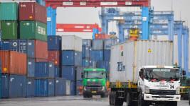 Tren Arus Peti Kemas Pelabuhan Kuartal III Tahun 2020 Naik