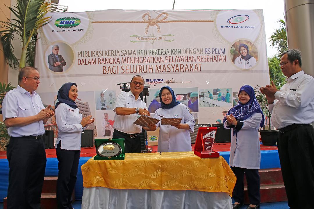 PT. KBN (Persero) Kerjasamakan Pengelolaan Rumah Sakit Umum dan Pekerja KBN dengan RS Pelni