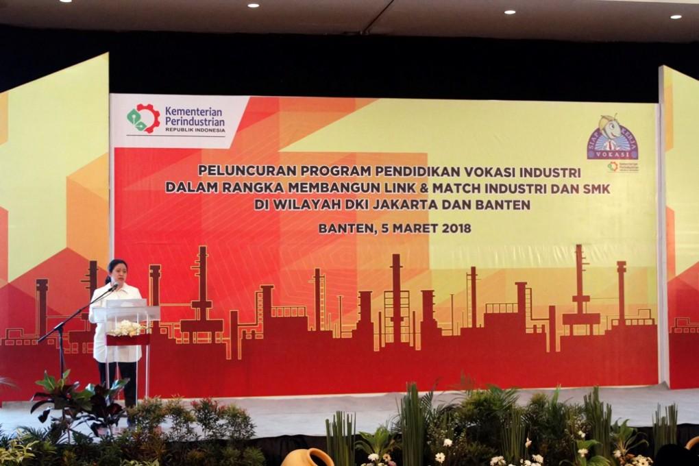 Peluncuran Program Vokasi Industri Dalam Rangka Link & Match SMK dan Industri