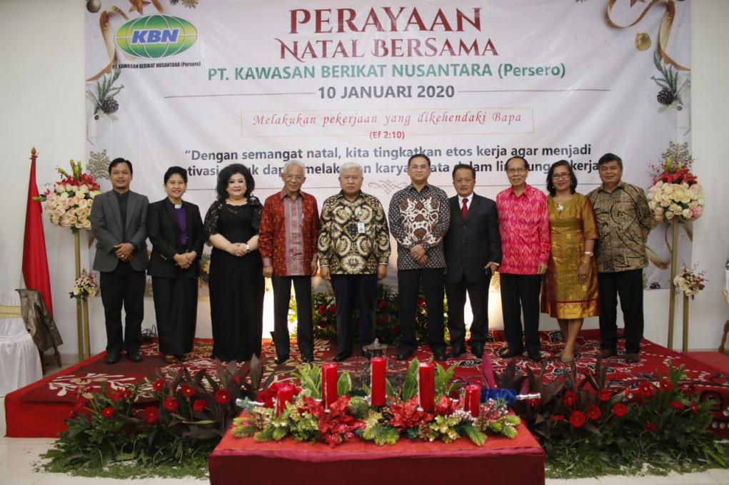 PT. KBN (Persero) Menggelar Perayaan Natal Bersama