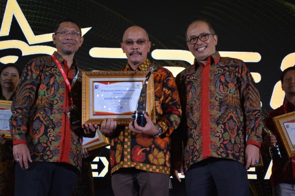 PT. KBN (Persero) Terima Penghargaan BUMN Performance Excellent Awards 2020