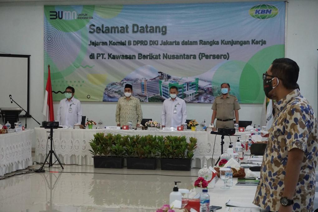 Kunjungan Komisi B DPRD Provinsi DKI Jakarta